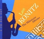 The milestone albums cd musicale di Lee Konitz