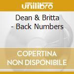 Dean & Britta - Back Numbers cd musicale di DEAN & BRITTA