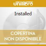 Installed cd musicale