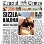 Sizzla - Crucial Times cd musicale di SIZZLA