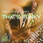 That's funky - golson benny cd musicale di Benny golson funky quintet