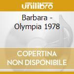 Barbara - Olympia 1978 cd musicale di Barbara