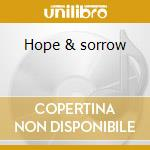 Hope & sorrow cd musicale di Wax Taylor
