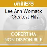 Greatest hits cd musicale di Womack lee ann