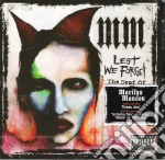 LEST WE FORGET/BEST+INEDITI cd musicale di MARILYN MANSON