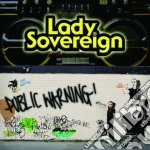 PUBLIC WARNING cd musicale di LADY SOVEREIGN