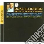 DUKE ELLINGTON MEETS COLEM cd musicale di ELLINGTON & HAWKINS