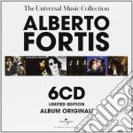 UNIVERSAL MUSIC COLLEC. ( BOX 6 CD) cd musicale di Alberto Fortis