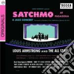 SATCHMO AT PASADENA                       cd musicale di Louis Armstrong