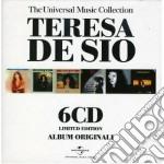 UNIVERSAL MUSIC COLLEC. ( BOX 6 CD) cd musicale di DE SIO TERESA