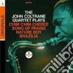 THE JOHN COLTRANE QUARTET PLAYS           cd musicale di John Coltrane