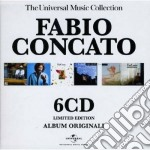 THE UNIVERSAL MUSIC COLLECTION (BOX 6 CD) cd musicale di Fabio Concato