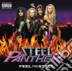 Feel the steel cd musicale di Panther Steel