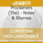 Proclaimers - Notes & Rhymes cd musicale di The Proclaimers