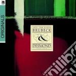 Dave Brubeck / Paul Desmond - 1975: The Duets cd musicale di BRUBECK/DESMOND