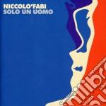 SOLO UN UOMO cd musicale di Nicolo' Fabi