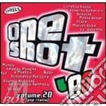 ONE SHOT 80 VOL. 20 cd musicale di ARTISTI VARI