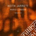 TESTAMENT (PARIS/LONDON)                  cd musicale di Keith Jarrett