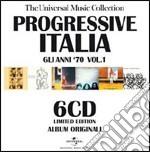 PROGRESSIVE ITALIA VOL. 1                 cd musicale di ARTISTI VARI