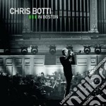 IN BOSTON  CD+DVD                         cd musicale di Chris Botti