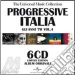 PROGRESSIVE ITALIA 4- BOX 6CD             cd musicale di ARTISTI VARI