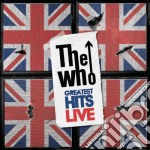Greatest hits live cd musicale di The Who