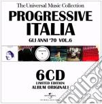 PROGRESSIVE ITALIA VOL. 6 - 6CD BOX       cd musicale di ARTISTI VARI