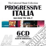 PROGRESSIVE ITALIA VOL. 7 - THE UNIVERSA  cd musicale di ARTISTI VARI