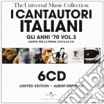 Gli anni 70 vol.3 (6cd) cd musicale di ARTISTI VARI