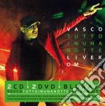 Tutto in Una Notte Live Kom 2015 (2 Cd+2 Dvd+Blu-Ray) cd