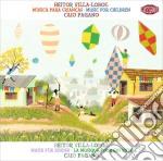 La musica per bambini cd musicale di Lobos Villa