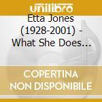 Doin' what she does best - jones etta cd musicale di Etta Jones