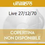 Live 27/12/70 cd musicale di Mountain