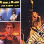 Live in rome 1974 cd musicale di Giant Gentle