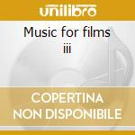 Music for films iii cd musicale di Eno/lanois/brook