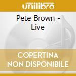 LIVE cd musicale di P./interocete Brown