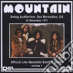 Mountain - Live In San Bernadino, Ca 1971 cd musicale di Mountain