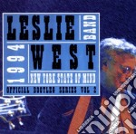Leslie West Band - New York State Of Mind cd musicale di Leslie west band