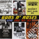 LIVE(ERA'87-'93 2CD) cd musicale di GUNS N' ROSES