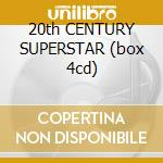20th CENTURY SUPERSTAR (box 4cd) cd musicale di BOLAN MARC & T.REX