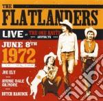 LIVE 72 cd musicale di FLATLANDERS THE