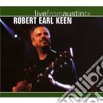LIVE FROM AUSTINTX cd musicale di EARL KEEN ROBERT