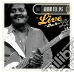 Live from austin tx cd musicale di Albert Collins
