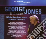 50TH ANN.TRIBUTE CONCERT  (BOX 3 CD) cd musicale di GEORGE JONES & FRIENDS