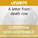 A letter from death row cd musicale di Bret Michaels