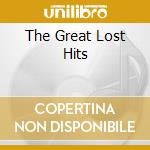 THE GREAT LOST HITS                       cd musicale di George Jones