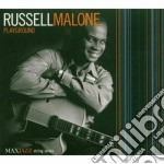 PLAYGROUND cd musicale di MALONE RUSSELL