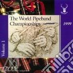 Championship 1999 - cornamuse cd musicale di The world pipeband
