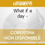 What if a day - cd musicale di Whirligig