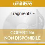 Fragments - cd musicale di Paton Davie